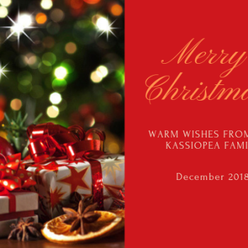warm wishes from the KASSIOPEA family